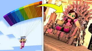 Minecraft: DROPPER SIMULATOR! (BIGGER FALLS EARN MORE CASH!) Modded Mini-Game