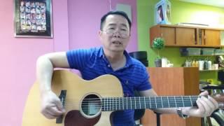 Guitar nâng cao hợp âm chuẩn : CON ĐƯỜNG KHÔNG CHO ĐI.