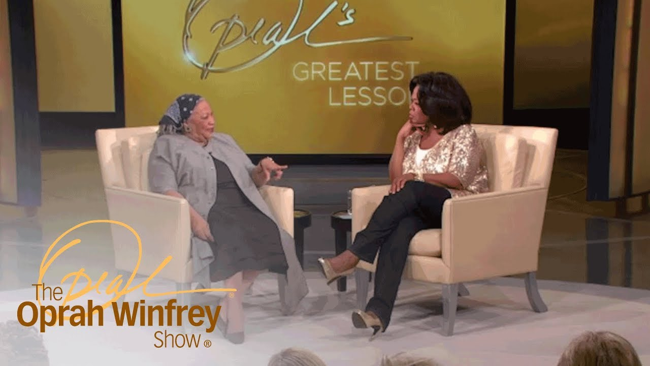 The Greatest Lesson Toni Morrison Learned At 80 | The Oprah Winfrey Show | Oprah Winfrey Network