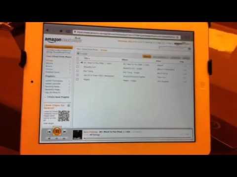 Amazon Cloud player on iPad