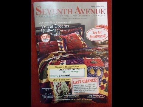 Seventh Avenue Catalog Review Spring Edition 2014