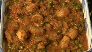 Best Mushroom Mutter (mushrooms & Peas) By Seema
