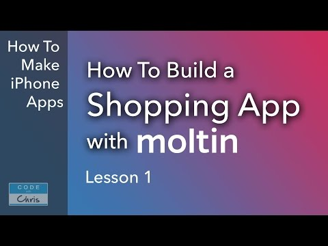 Build a Shopping App with Moltin - Ep 1 - Introduction