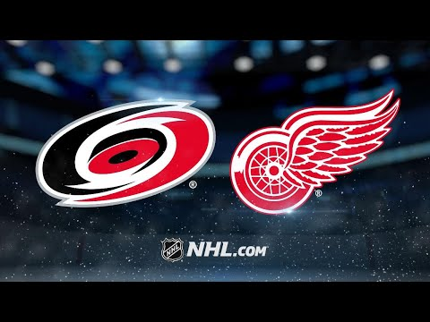 Lindholm scores twice as Hurricanes down Red Wings