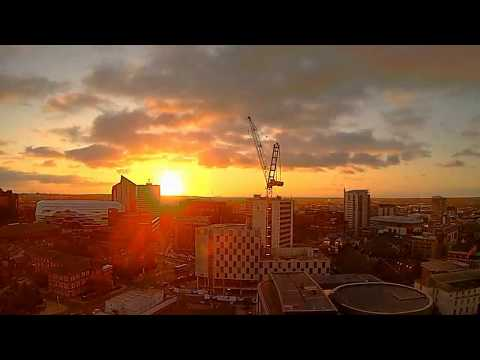 Leeds Time Lapse of Storm Ophelia (16th October 2017)