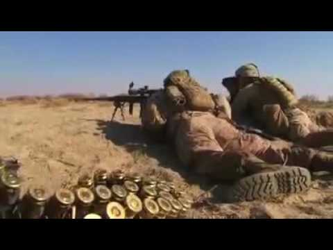 US Marine Sniper  One Shot One Kill Afghanistan