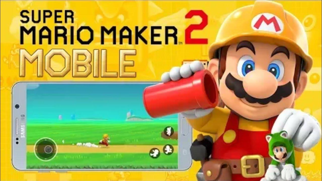 تحميل لعبة mario maker