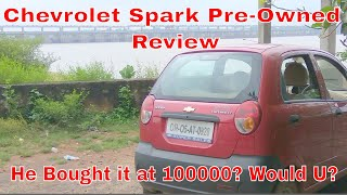 Chevrolet Spark 5 Year Old Pre Owned Car Honest Review