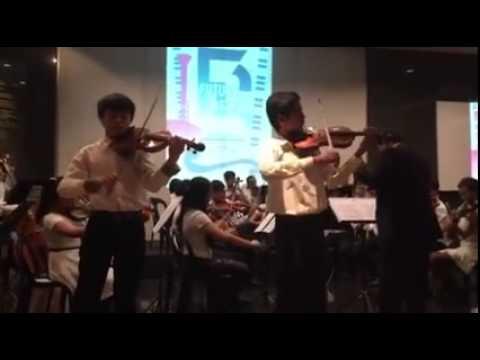 Tutor Ian performing with MSJO