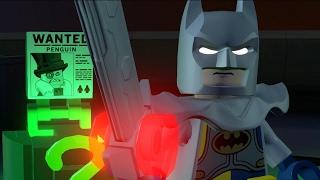 Lego Batman Movie World - Excalibur Batman VS The Riddler Free Roam 100% Walkthrough