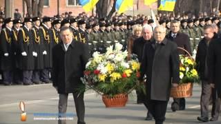 krnews.ua - В Кривом Роге почтили память освободителей города(22 февраля отмечается 70-я годовщина освобождения Кривого Рога от фашистско-немецких захватчиков. В этот..., 2014-02-23T23:16:03.000Z)