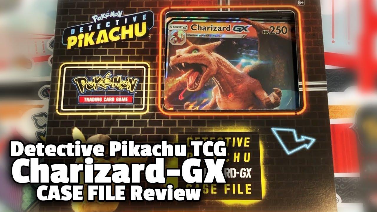 Pokemon Tcg Detective Pikachu Charizard Gx Case File Opening Review Youtube