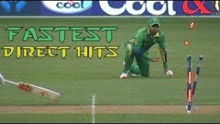 Top 10 best direct hit run out in cricket .