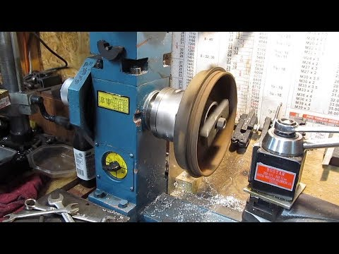 Turning A Brake Drum On A Small Lathe Mill Drill