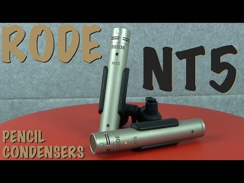 RODE NT5 - An affordable pencil condenser with a twist!