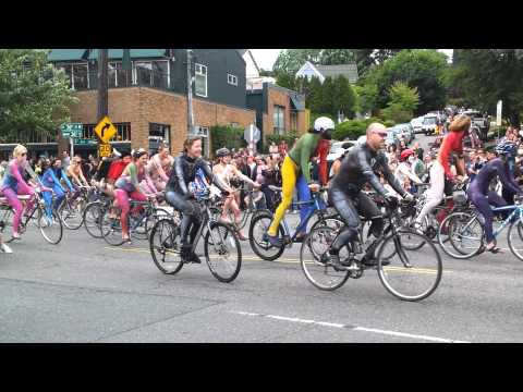 Fremont Solstice Naked Bike Ride