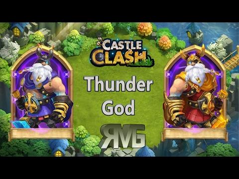 Castle Clash - Thunder God