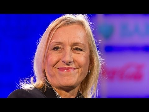 Martina Navratilova on her colossal tennis career | Fortune
