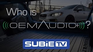 Subaru Sound Solution: OEM Audio Plus
