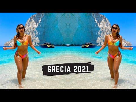 Así es una ISLA GRIEGA PARADISIACA - Zakynthos 2021