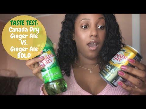 Taste Test: Canada Dry Ginger Ale Vs. Ginger Ale BOLD