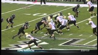 Paipai Falemalu sacks Tyler Hansen Colorado vs. Hawaii 2011