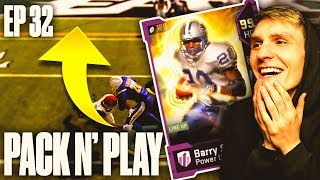 Pack And Play Episode 32! - 99 BARRY SANDERS! - Madden 19 Ultimate Team