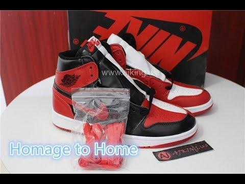 69d700f69b7 Air Jordan 1 Homage to Home Split Sample Unboxing Review From www.ajking.ru
