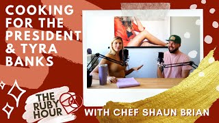 Cooking For The President &amp Tyra Banks: Chef Shaun Brian&#39s Caribbean-To-Charleston Story  Ruby Hour