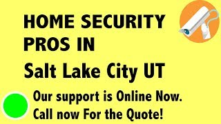 Best Home Security System Companies in Salt Lake City UT