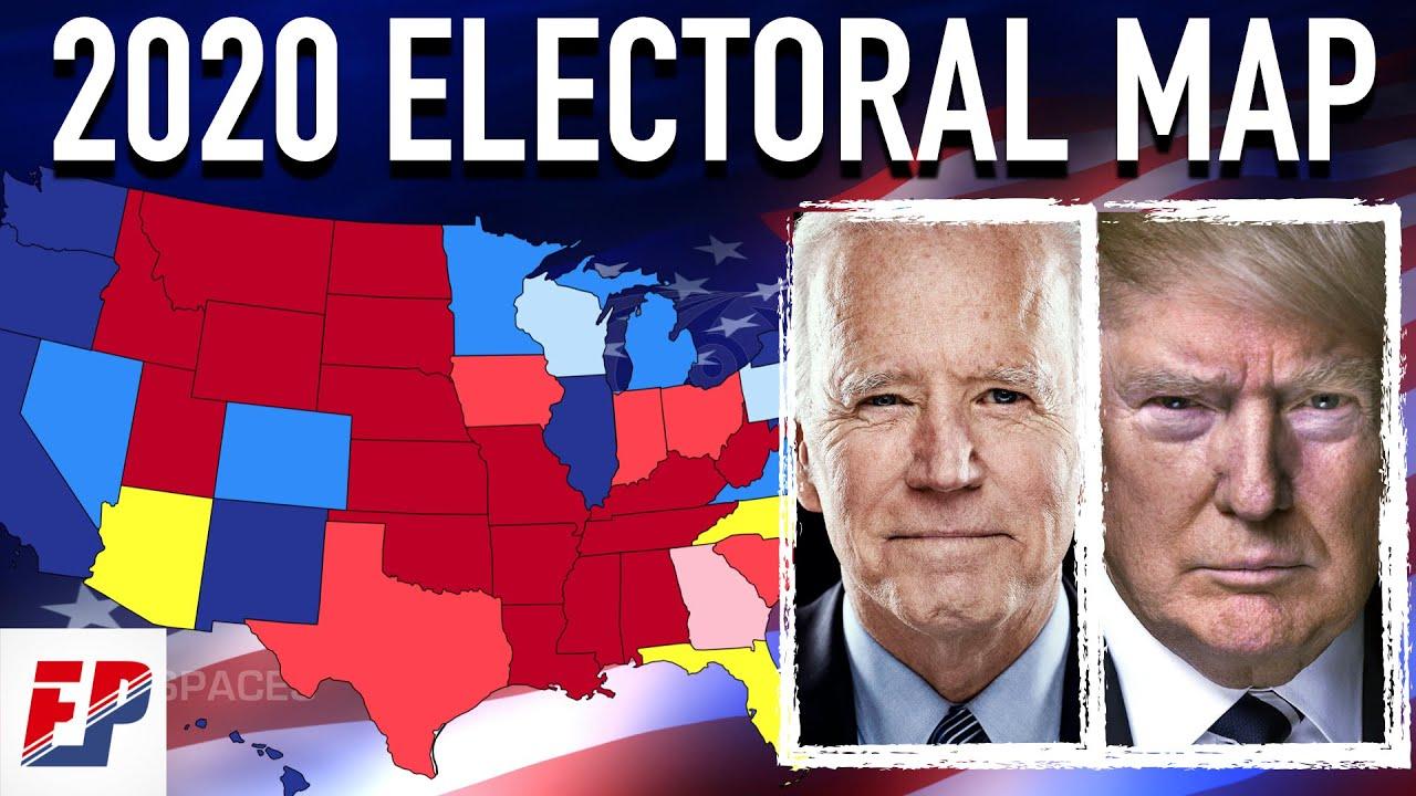 2020 Electoral Map   Joe Biden vs Donald Trump - YouTube