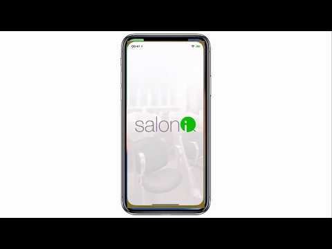 Salon iQ Booking App Intro