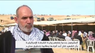 آلاف الفلسطينيين يشيعون الشهيد أبو القيعان بأم الحيران
