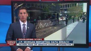 JPMorgan Chase reporting data breach