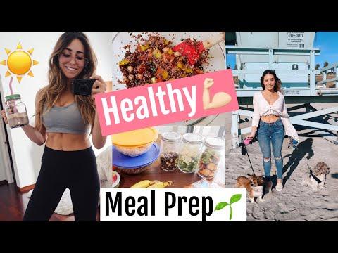 HEALTHY MEAL PREP (Vegan + Easy) //& ADOPTING A PUPPY!