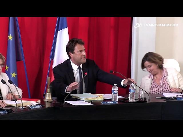 Vidéo Conseil Municipal du 25 mai 2018
