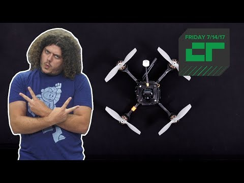 Fastest Drone Ever World Record Set | Crunch Report