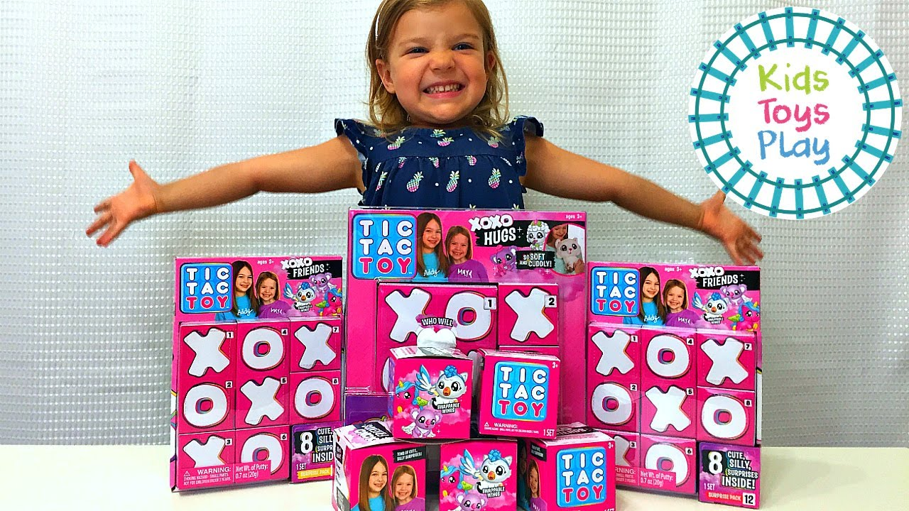 Tic Tac Toy XOXO Friends Unboxing!