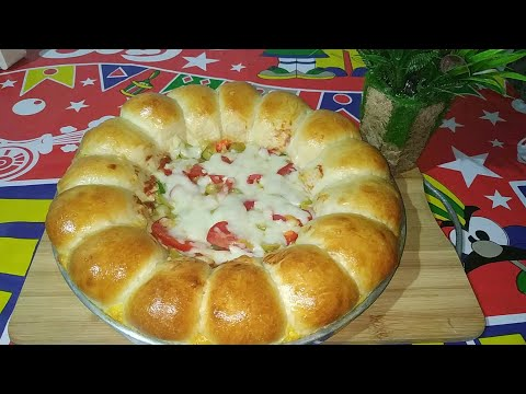 صورة  طريقة عمل البيتزا طريقه عمل البيتزا محشيه الأطراف بالجبنه طريقة عمل البيتزا من يوتيوب