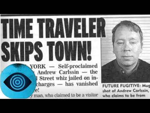 War dieser Mann ein Zeitreisender?