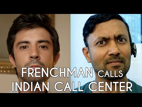 When A Frenchman Calls An Indian Call Center : The IRabbit