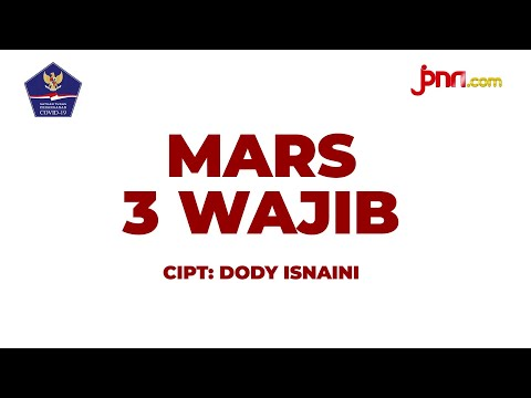 Lirik Lagu: Mars 3 Wajib