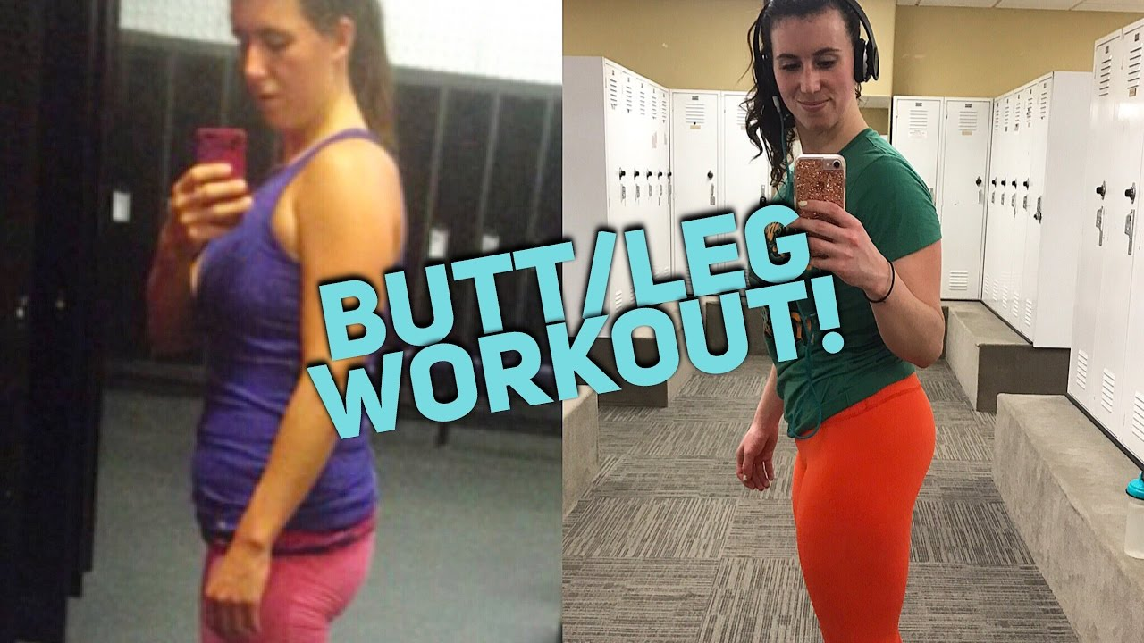 pancake butt to fat ass- grow your glutes workout! - youtube
