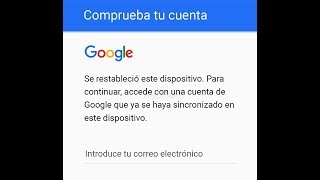 Como eliminar la cuenta de google en un Gomobile Go984  2017