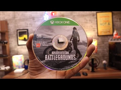 PUBG Unboxing For XBOX One X  ( Is It Really 4K )