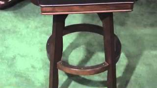 Hillsdale Furniture Ambassador Swivel Barstool