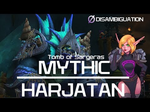 Disambiguation - Tomb Of Sargeras Mythic Harjatan - Shadow Priest POV