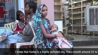 Korba: A city in peril