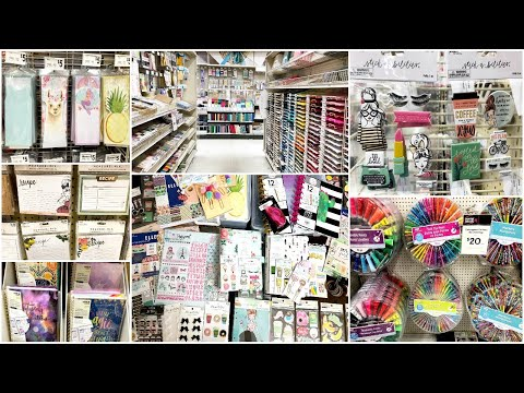 SHOP WITH ME | PLANNER SUPPLIES | MICHAELS & HOBBY LOBBY + HUGE HAUL