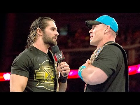 John Cena's message to Seth Rollins: May 18, 2016